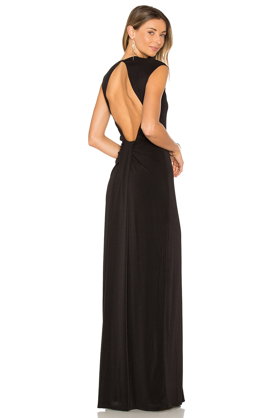 RACHEL ZOE Amara Dress in Black