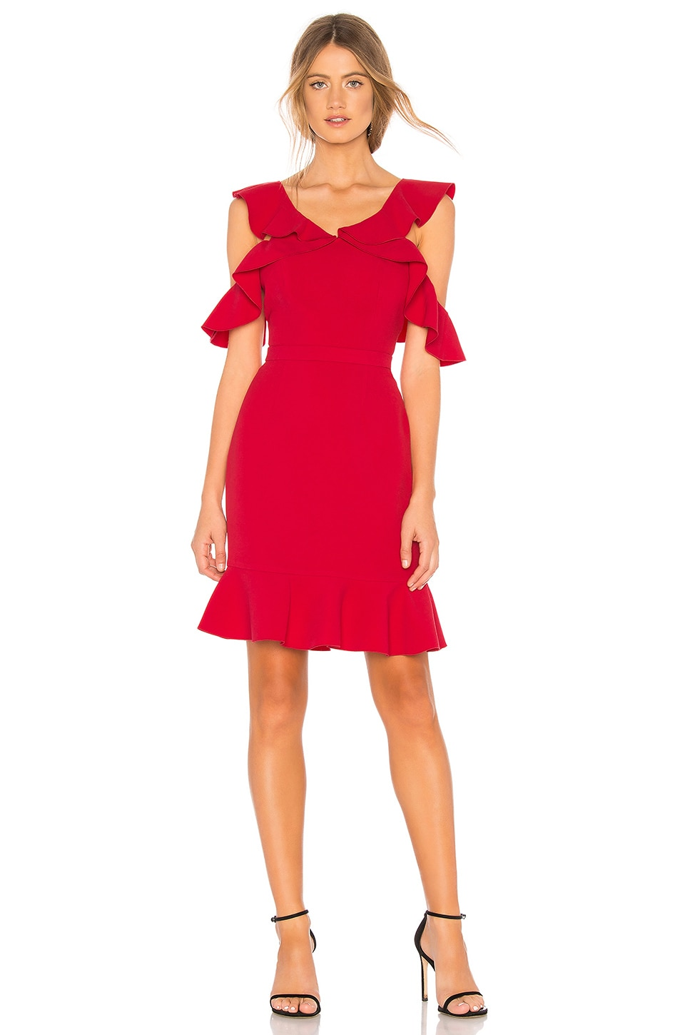 RACHEL ZOE Delia Dress in Azalea