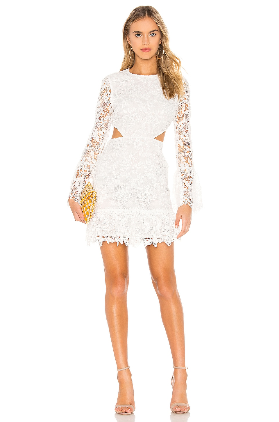 RACHEL ZOE Isabel Dress in Ecru