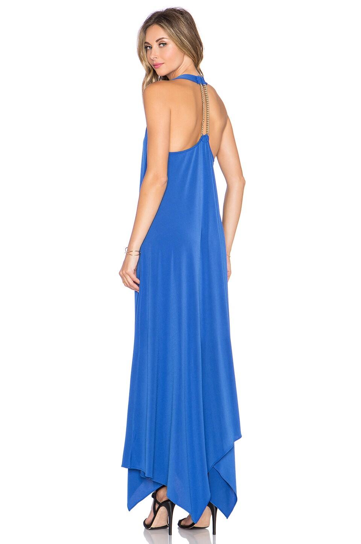 RACHEL ZOE Athena Halter Maxi Dress in Marrakesh Bluse