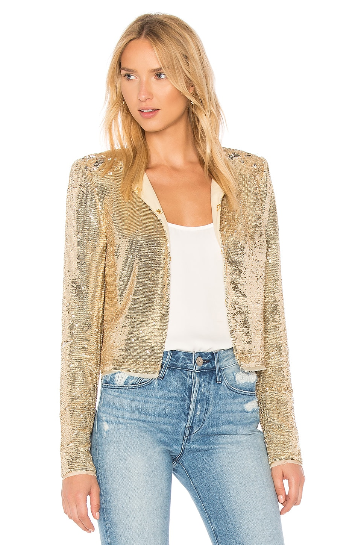 RACHEL ZOE Dolly Jacket in Gold