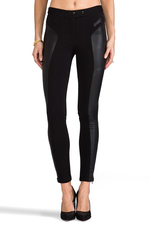 Rachel Zoe Trudie Ponte Skinny Pant in Black