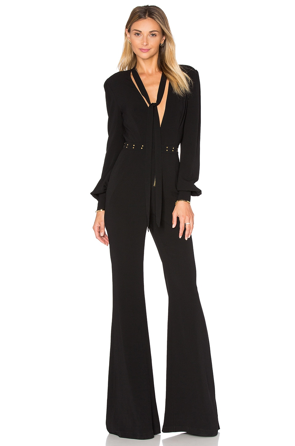 RACHEL ZOE Lindley Jumpsuit in Black