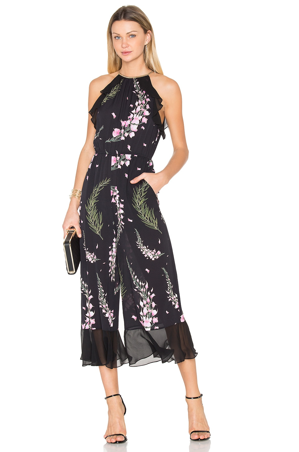 RACHEL ZOE Daphne Jumpsuit in Multi