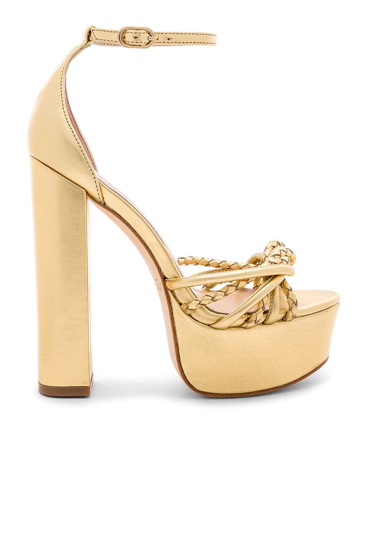 RACHEL ZOE Kinsley Platform Sandal in Gold