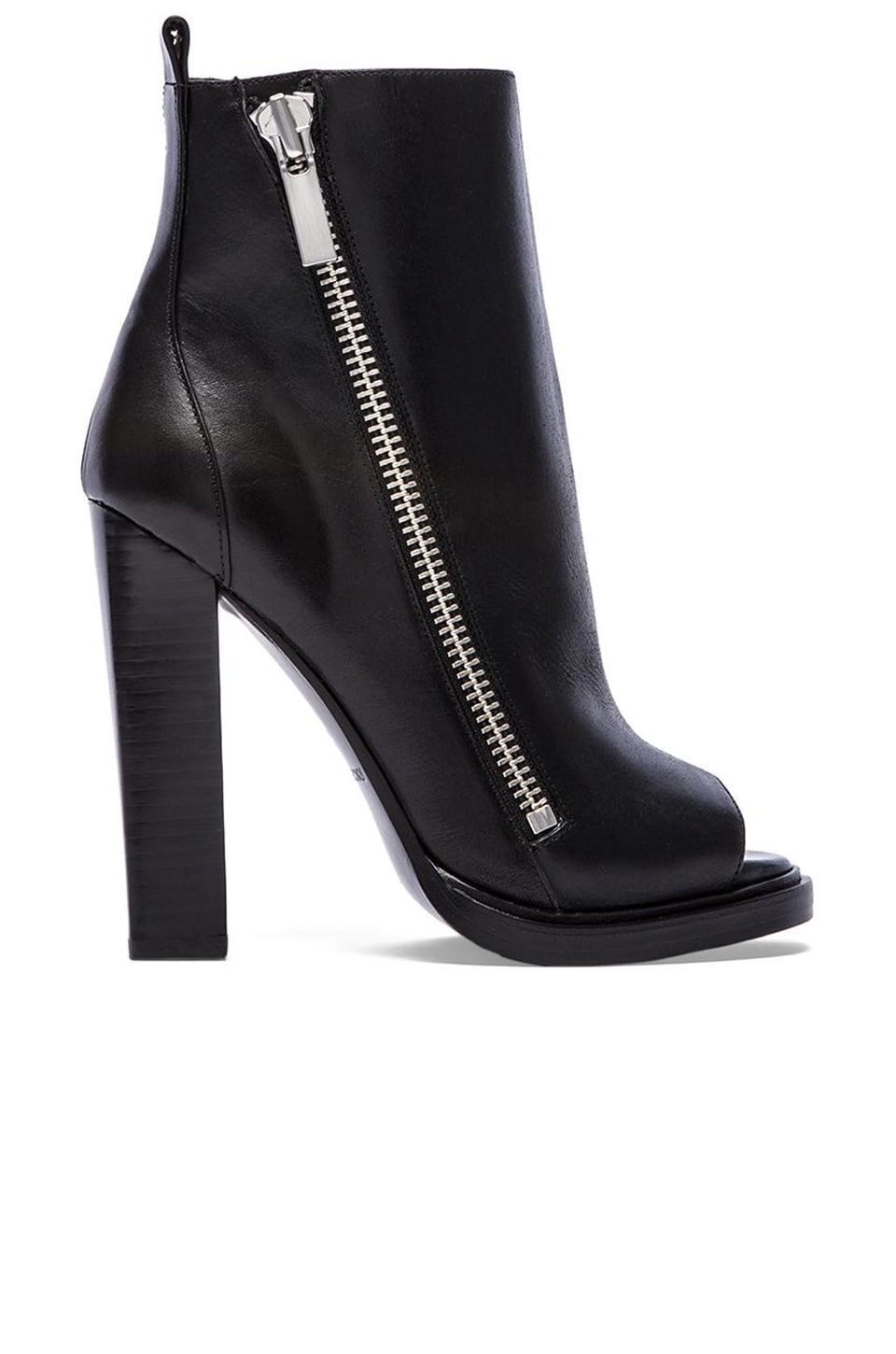 RACHEL ZOE Jillian Bootie in Black