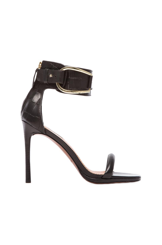 RACHEL ZOE Melina Heel in Black