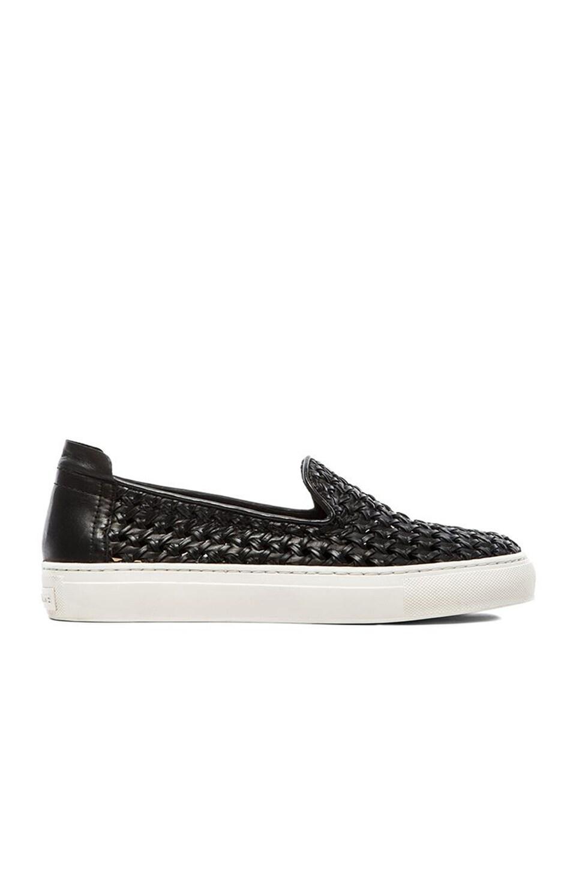 RACHEL ZOE Burke Slip On Sneaker en Black