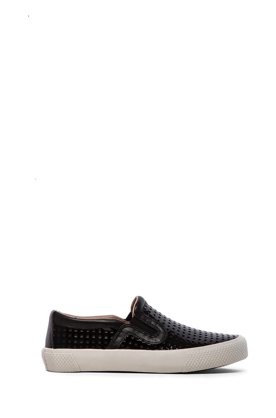 RACHEL ZOE Barney Loafer in Black