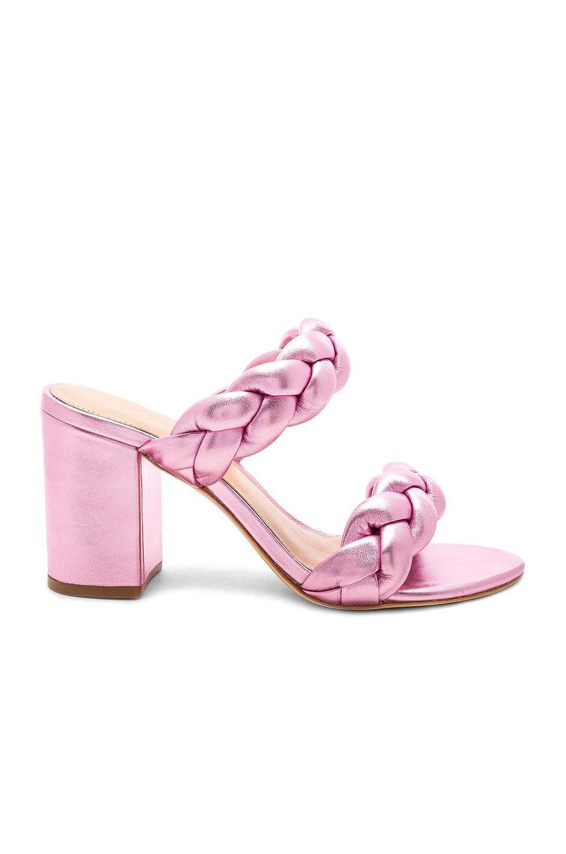 RACHEL ZOE Demi Braid Mule in Pale Pink