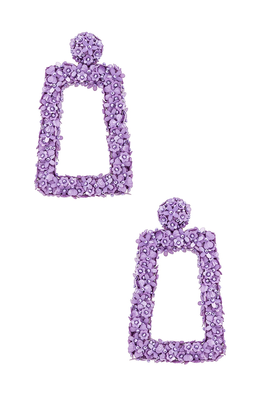 Sachin & Babi Fleur Dusk Earrings in Lilac
