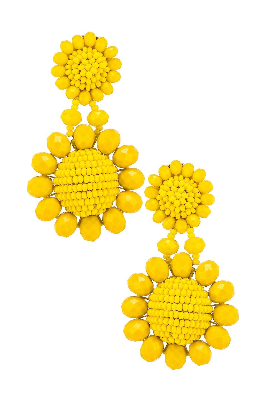 Sachin & Babi Mini Regal Drop Earrings in Goldenrod