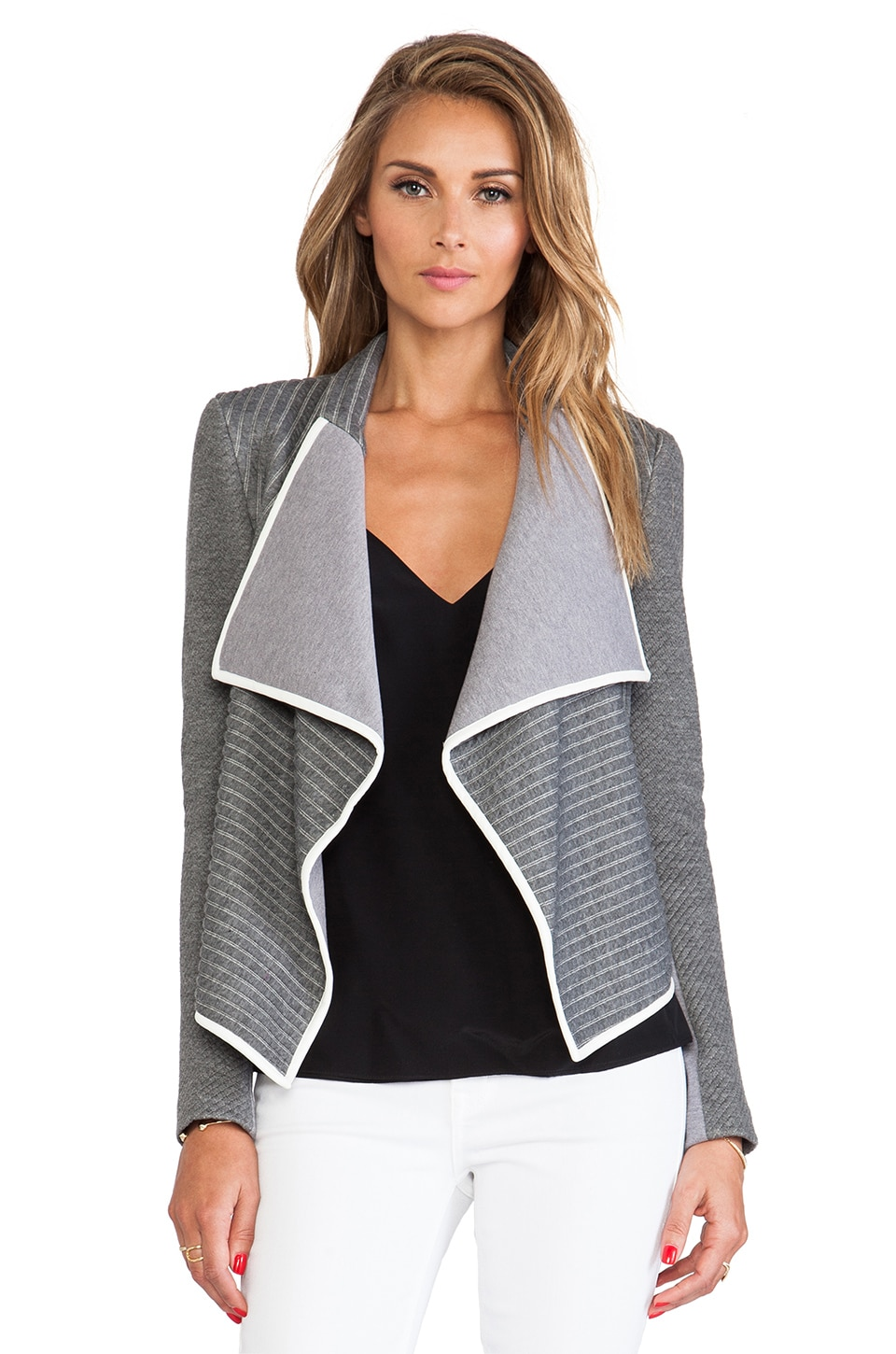 Sachin & Babi Navarre Jacket in Ash Stripe