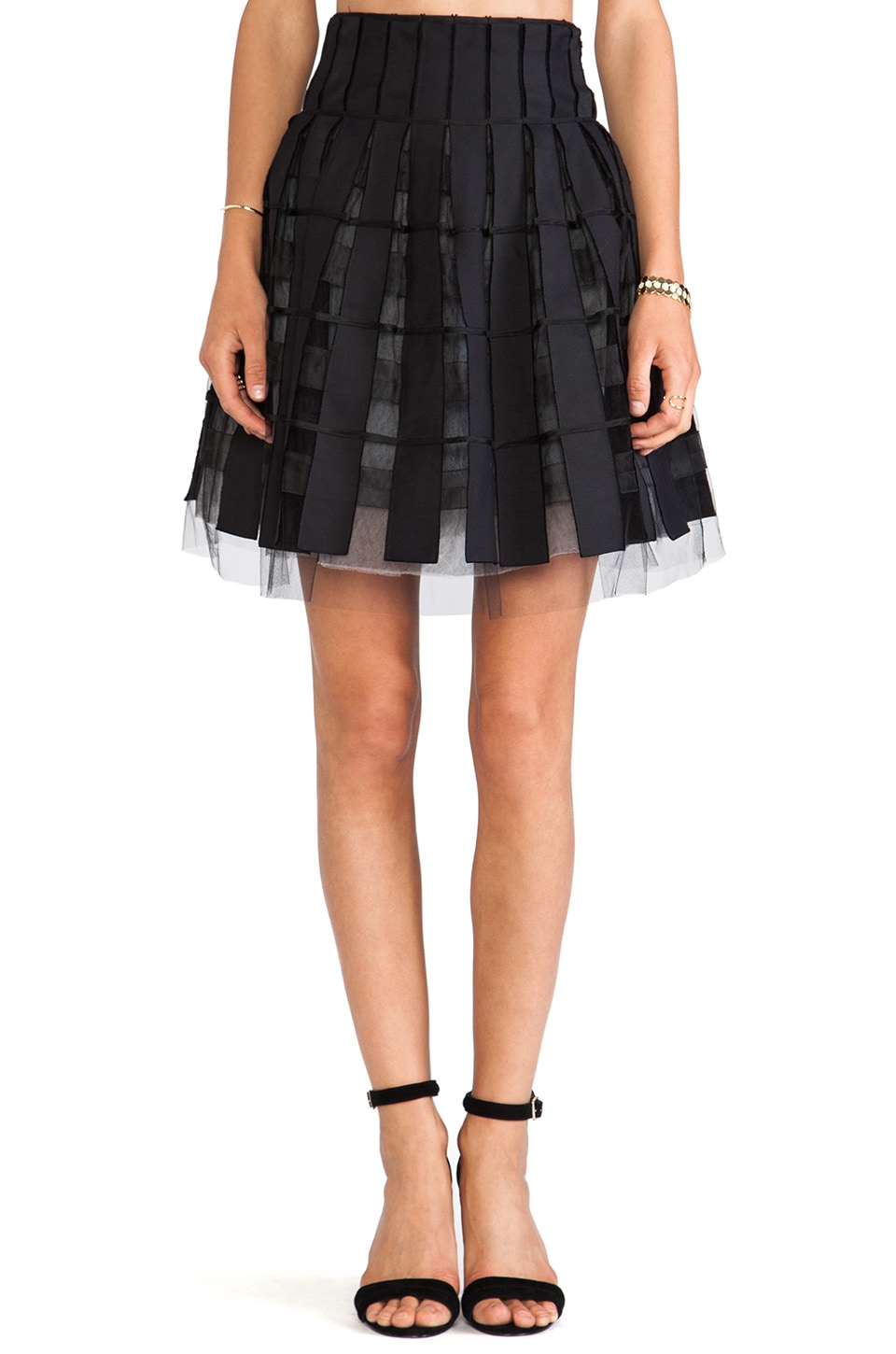 Sachin & Babi Mia Skirt in Black