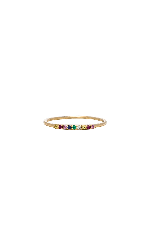 SACHI RAINBOW SEGMENT RING