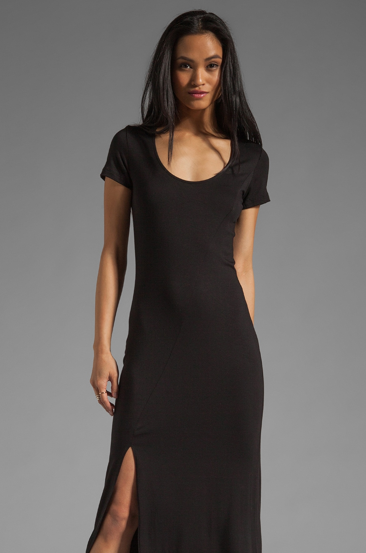 Saint Grace Prima Lyric Maxi Dress in Black