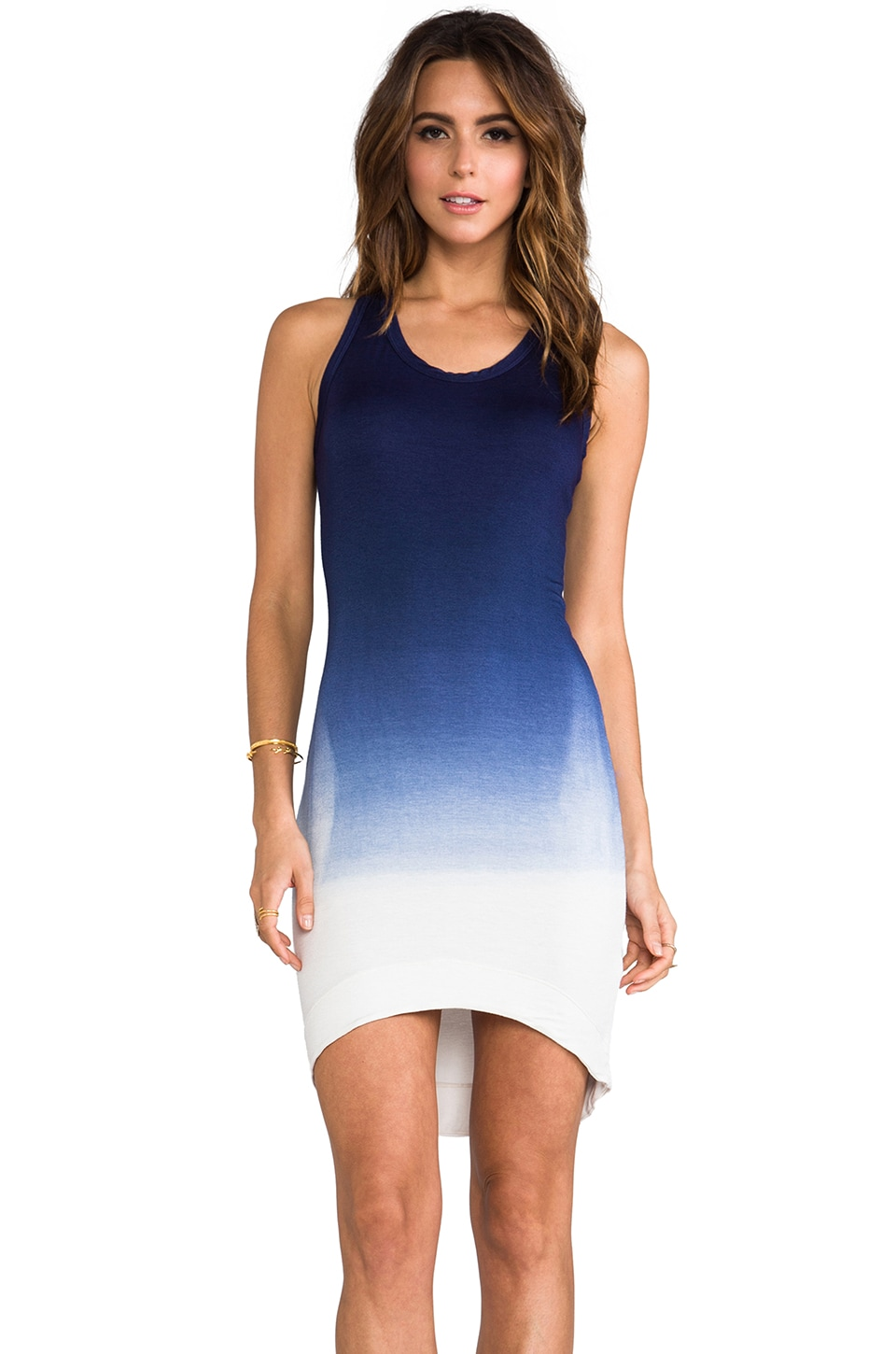 Saint Grace Saint Jo Hi-Lo Dress in Sailor Ombre