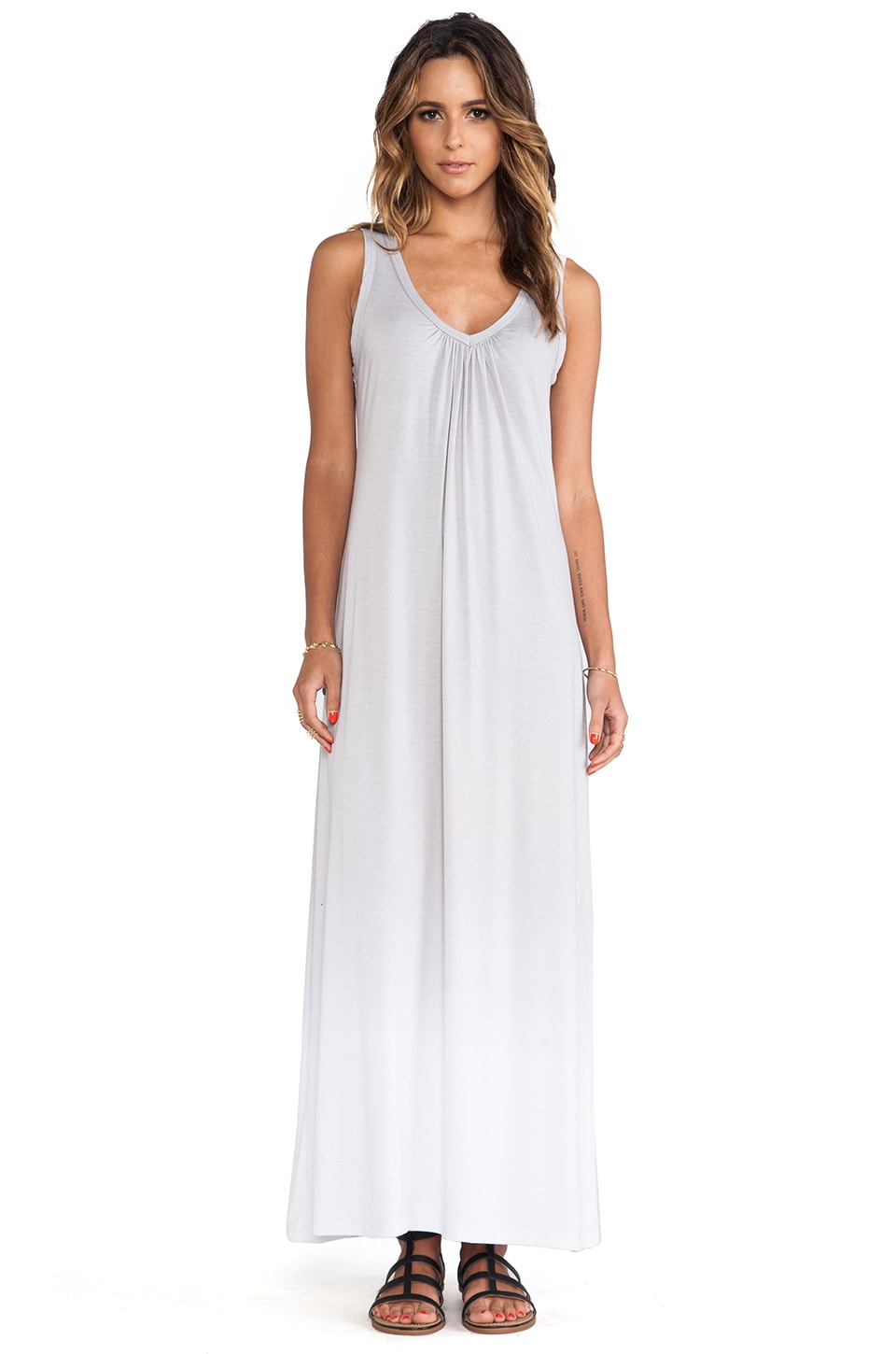 Saint Grace Seaside Maxi Dress in Pewter Ombre