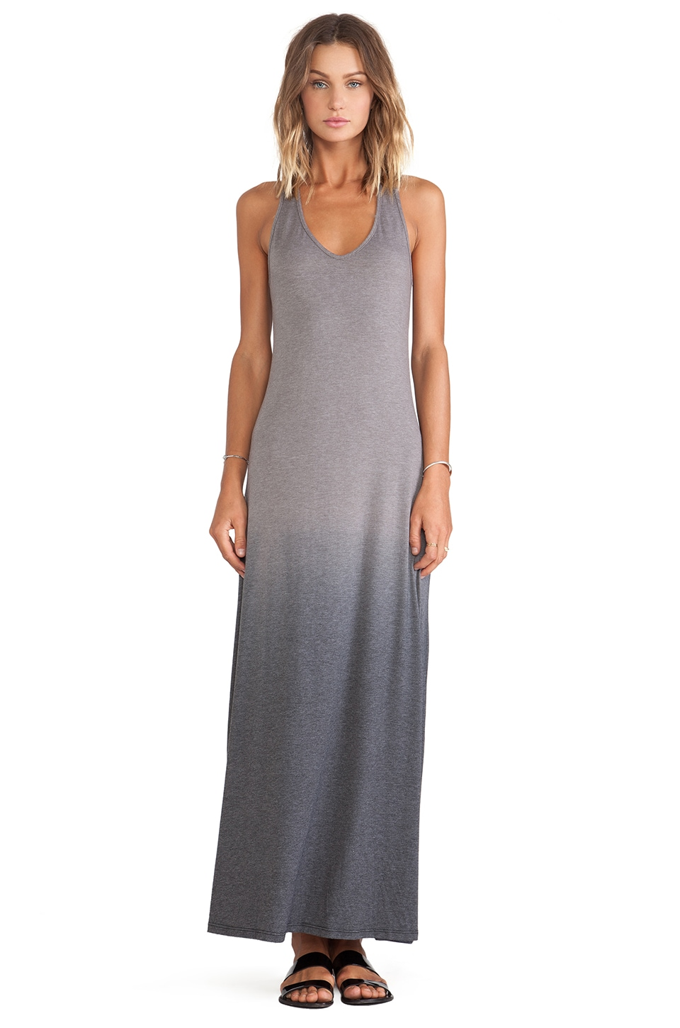 Saint Grace Bryn Maxi Dress in Seal Ombre Wash