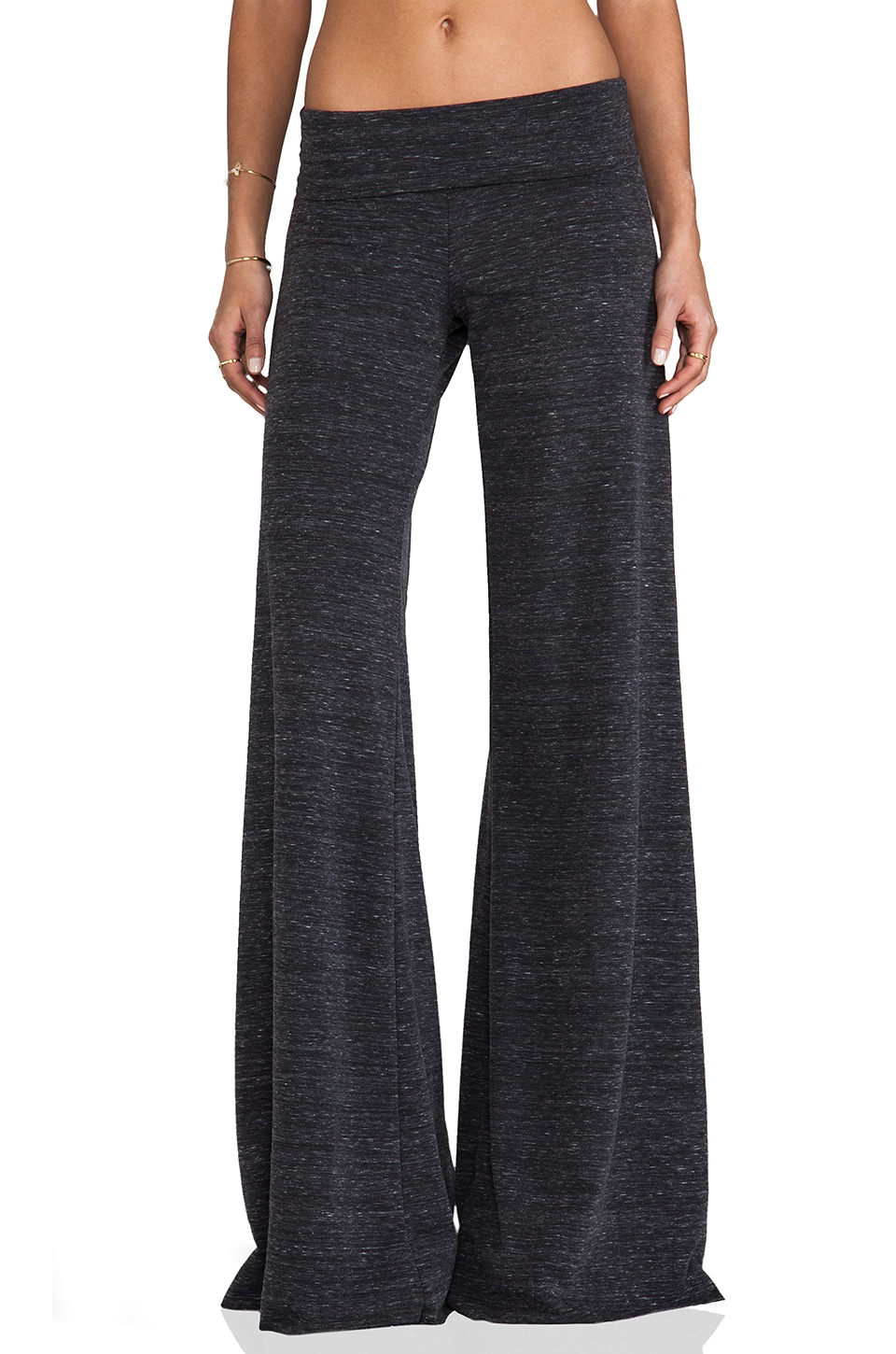 Saint Grace Stripe Carol Pant in Marble Black