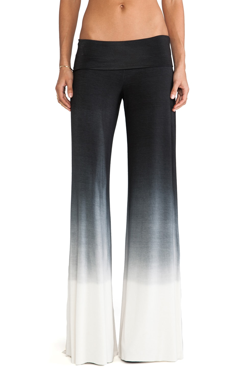 Saint Grace Carol Wide Leg Pant in Black