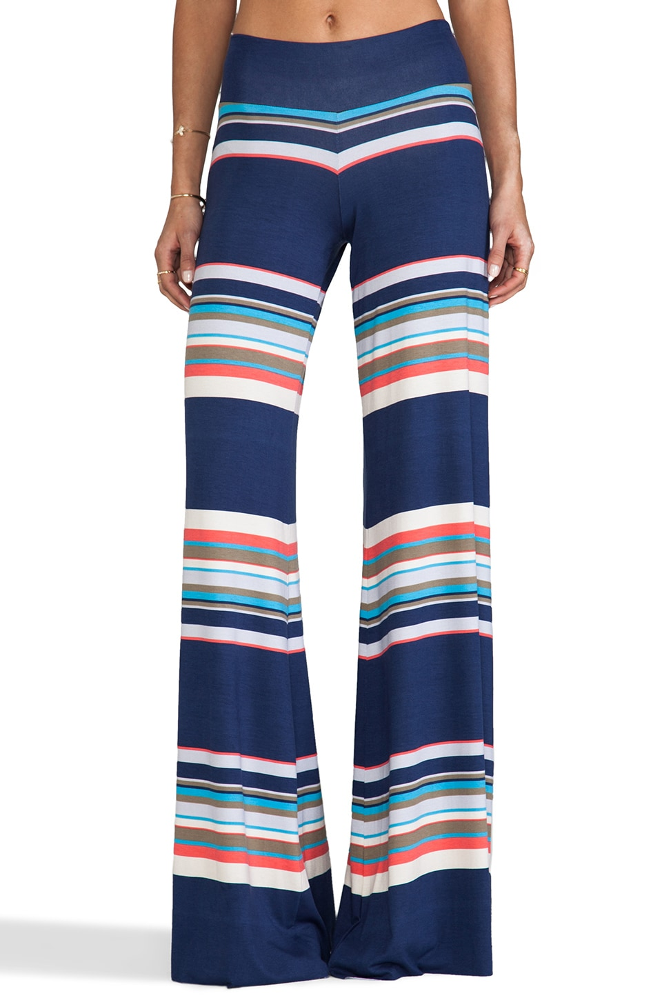 Saint Grace Wide Pant in Tahoe Mojave Stripe