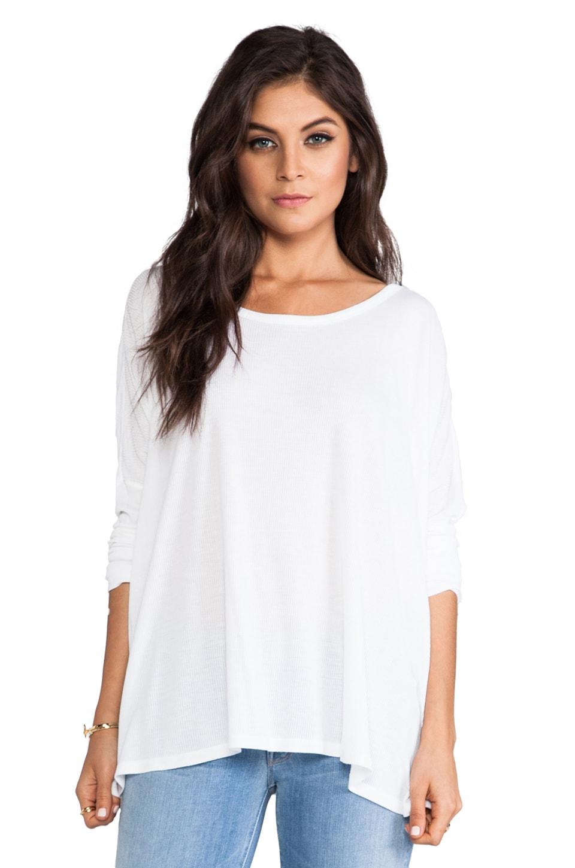 Saint Grace Omega Oversized Top in White