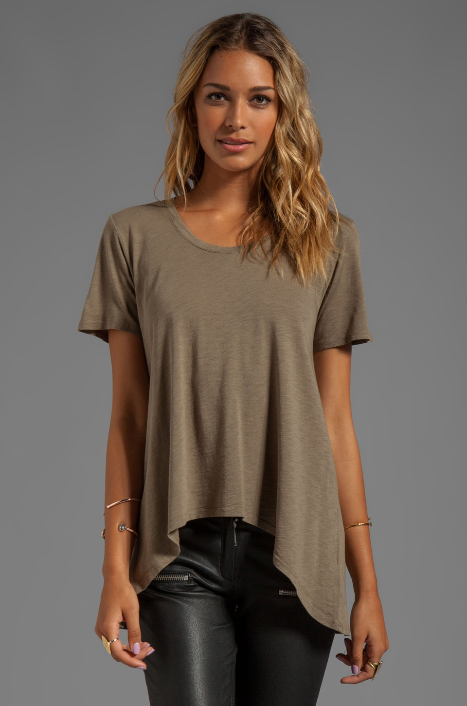 Saint Grace Buddy Oversized Tee in Eco