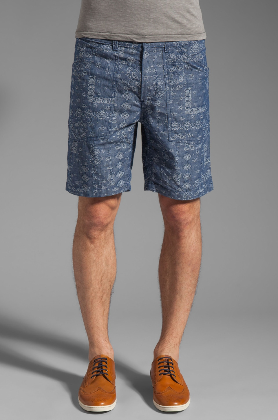 Steven Alan Matt Short in Handkerchief Blue