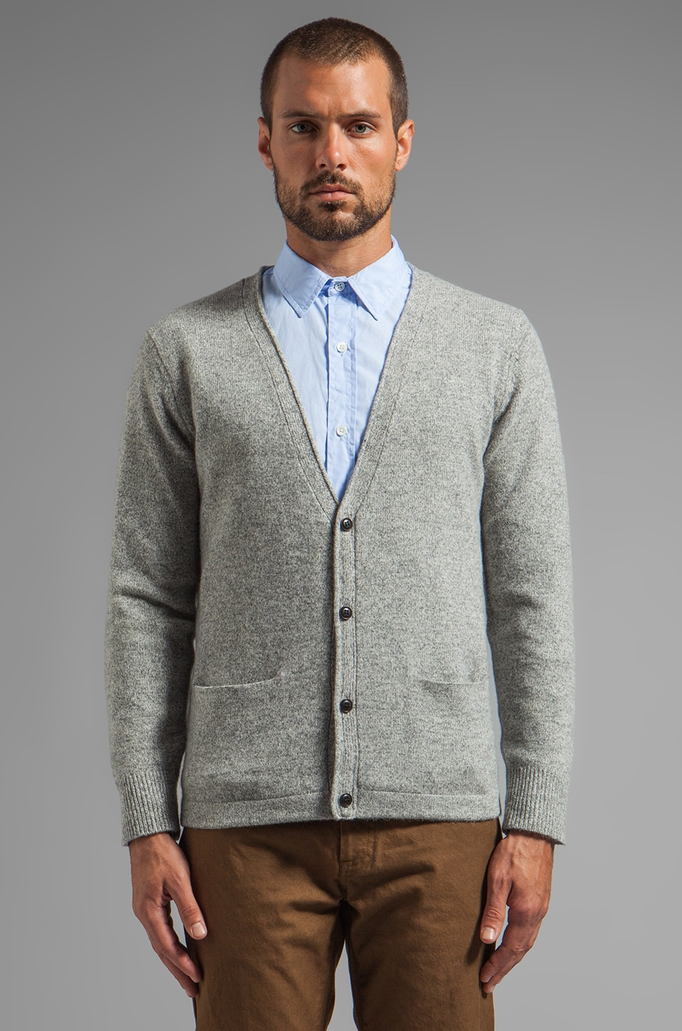 Steven Alan Conroy Cardigan in Grey