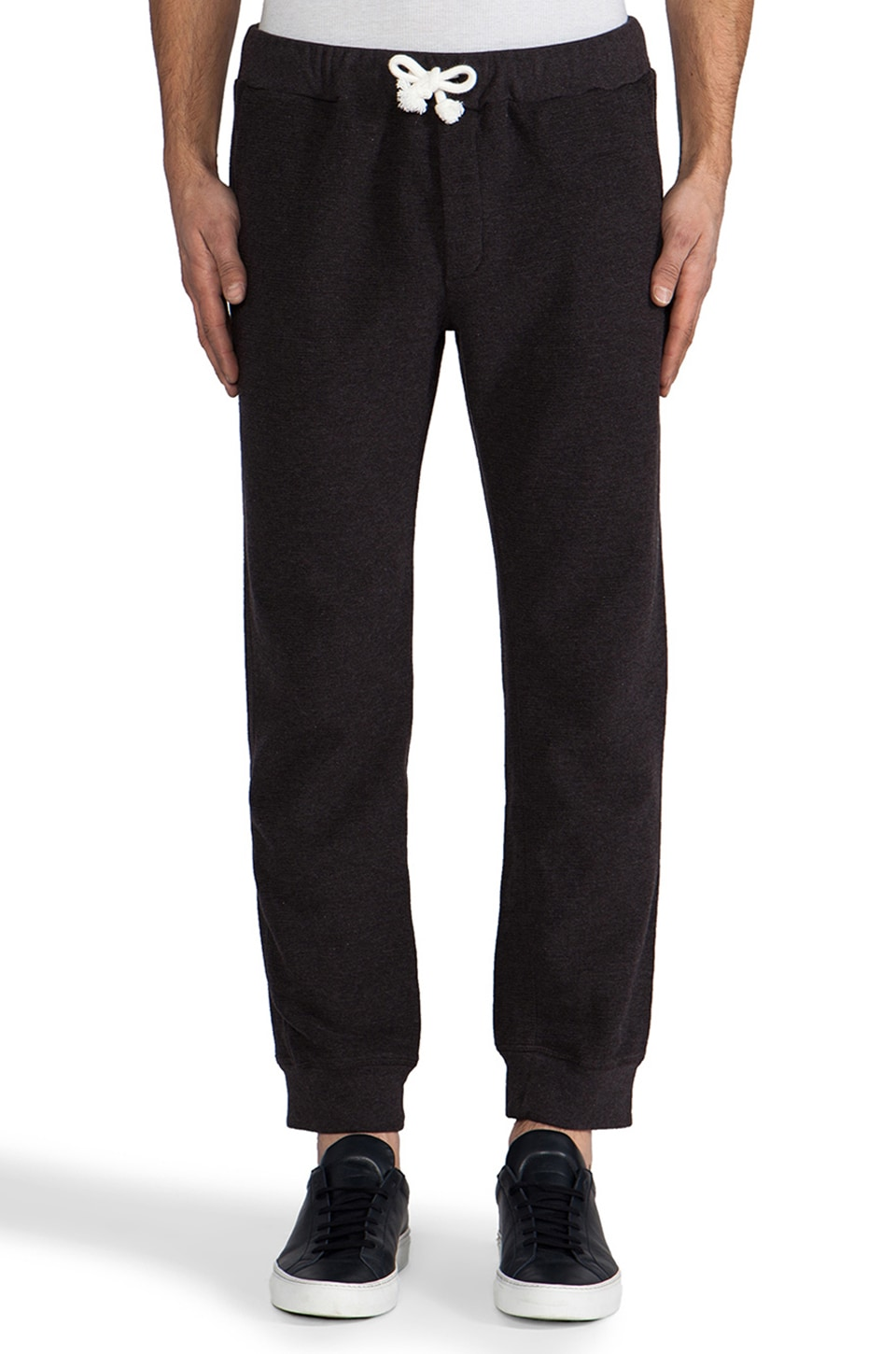 Steven Alan Charles Sweatpant in Charcoal