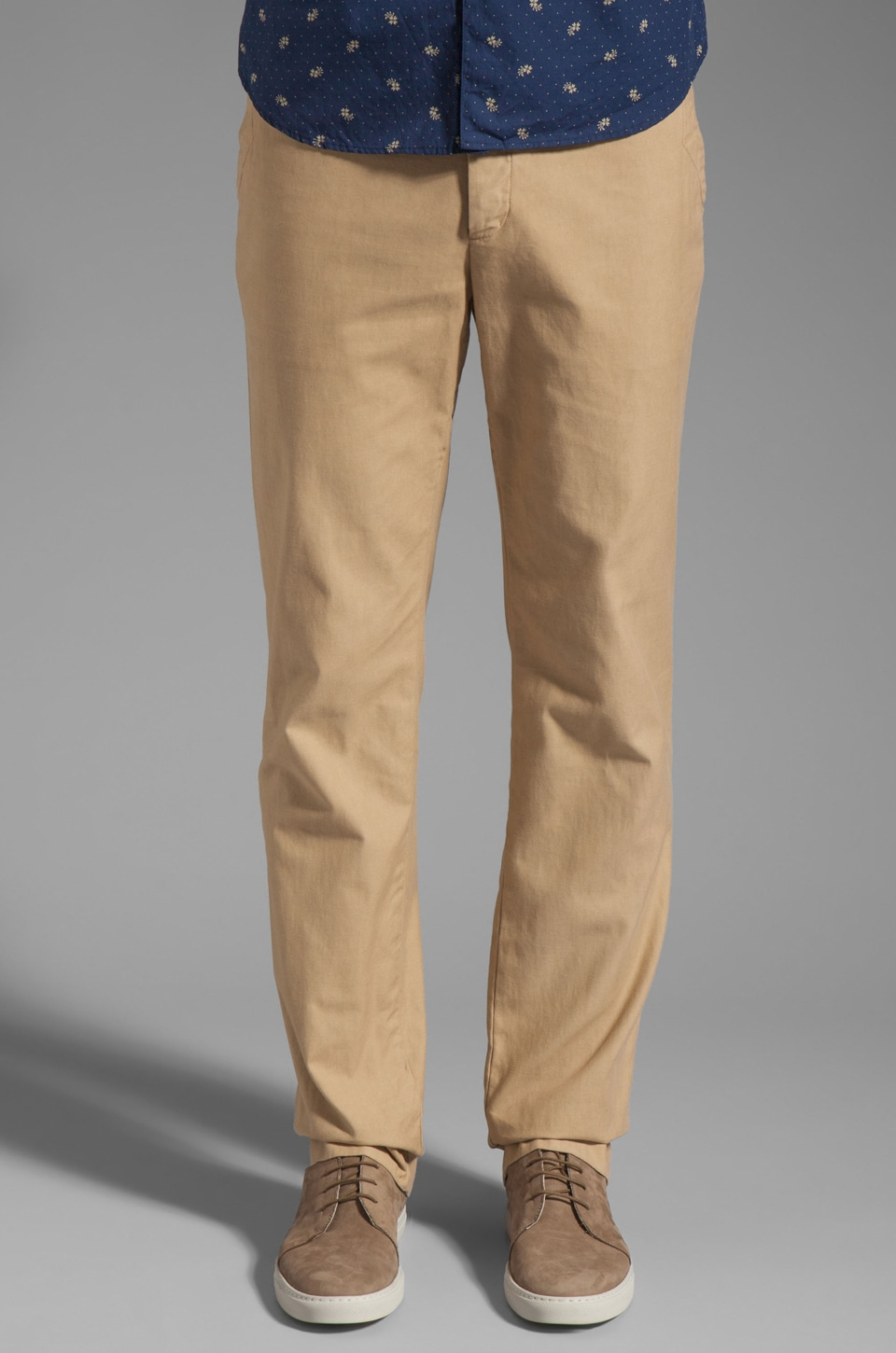 Steven Alan Saratoga Pant in Saddle