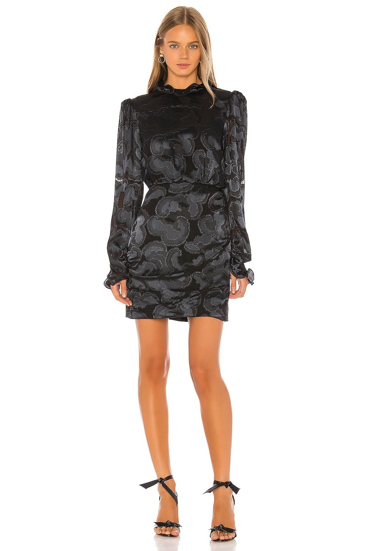 SALONI Rina-B Dress in Black