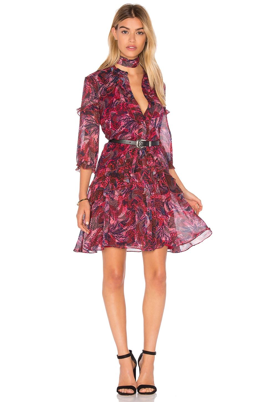 41dc293ca86 SALONI Tilly Ruffle Dress in Crest