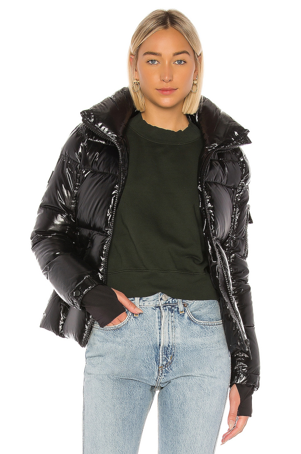 SAM. Freestyle Puffer Jacket in Jet
