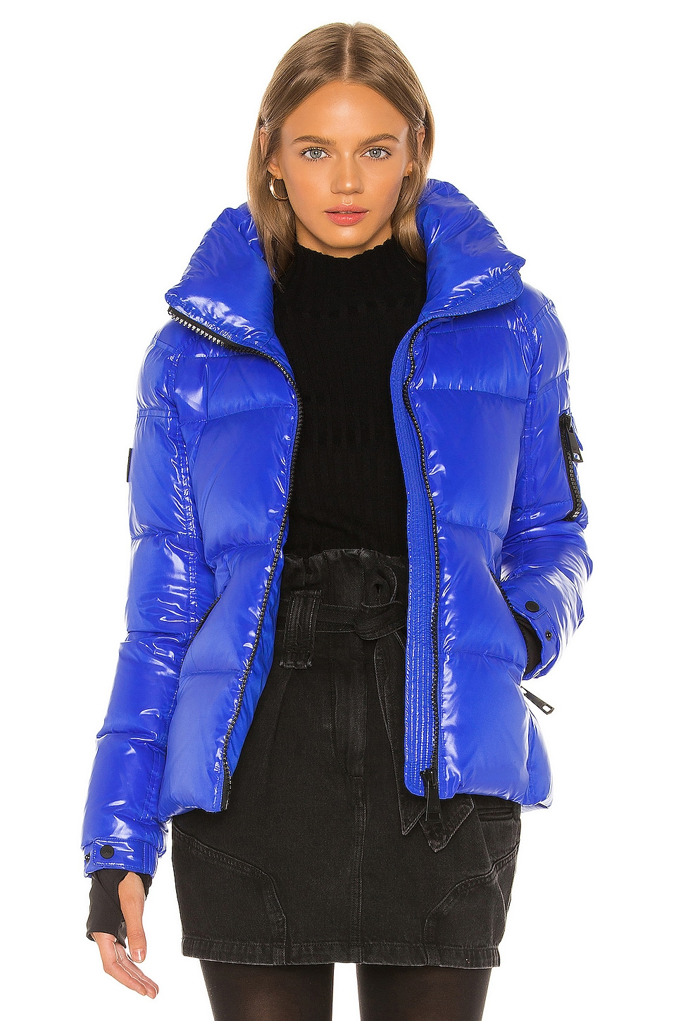 SAM. Freestyle Puffer Jacket in Light Royal