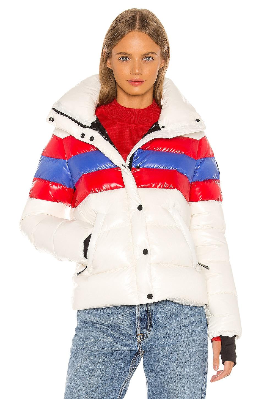 SAM. Lindsey Puffer Jacket in Crema