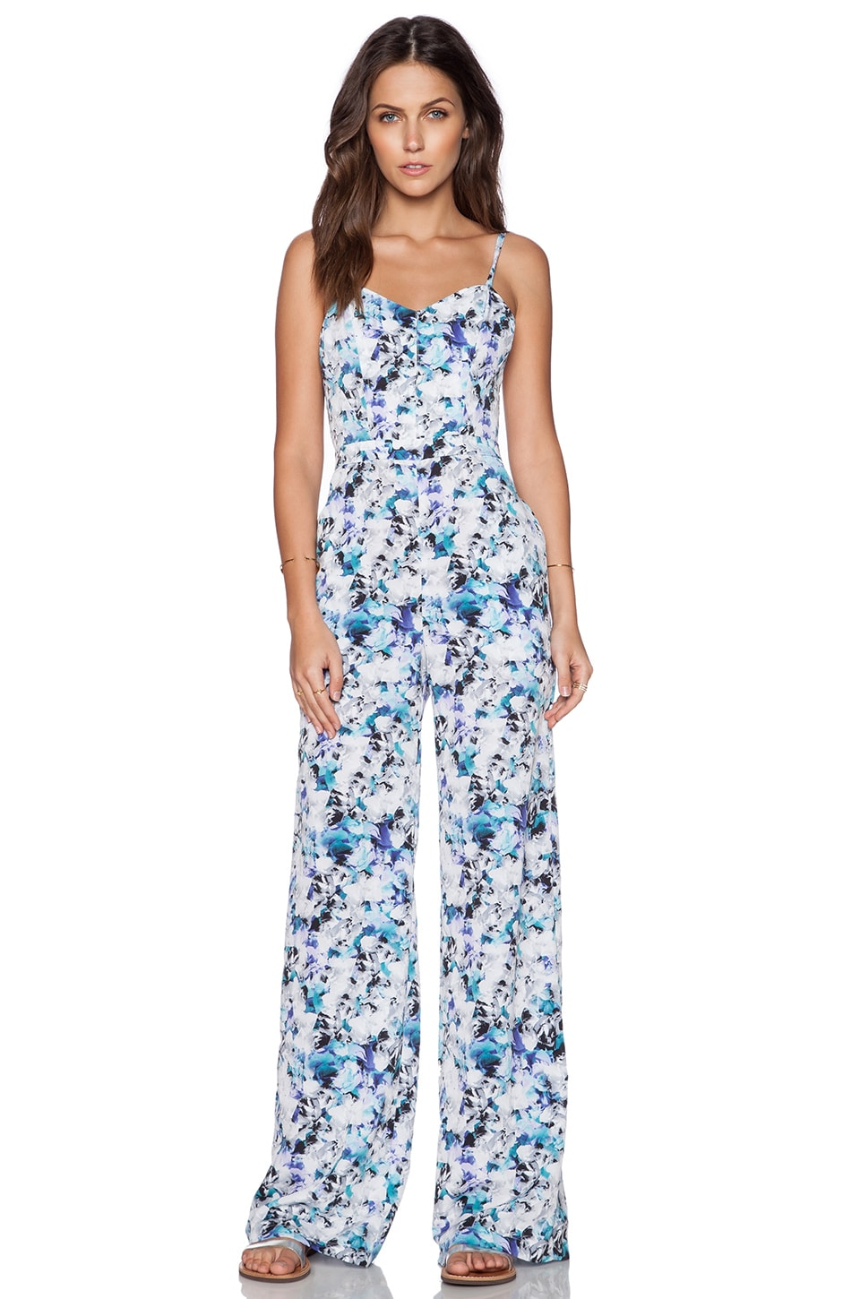 Photo Floral Jumpsuit