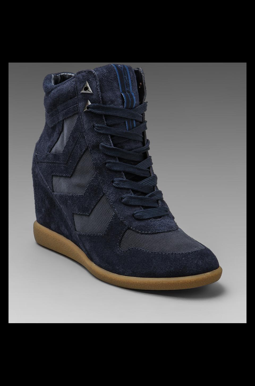 Sam Edelman Bennett Sneaker in Ink Navy