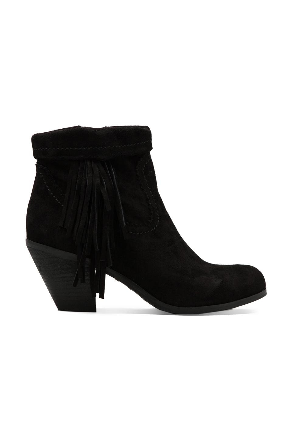 Sam Edelman Louie Boot in Black Suede