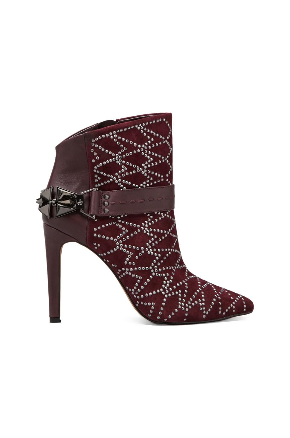 Sam Edelman Mila Boot in Burgundy