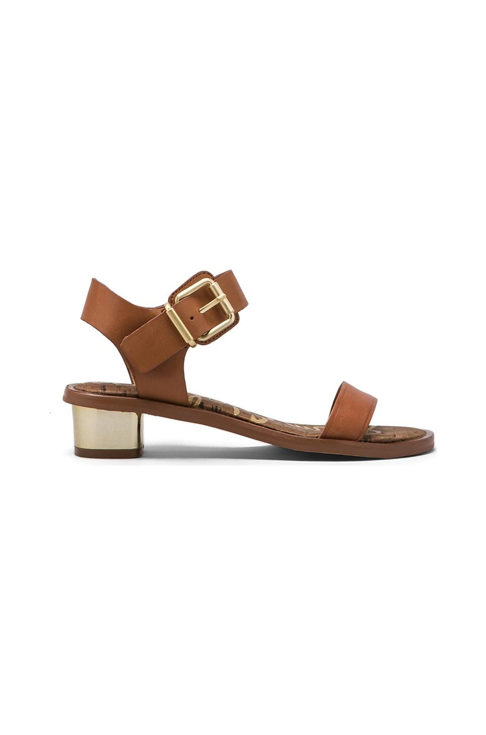 Sam Edelman Trina Sandal in Whiskey