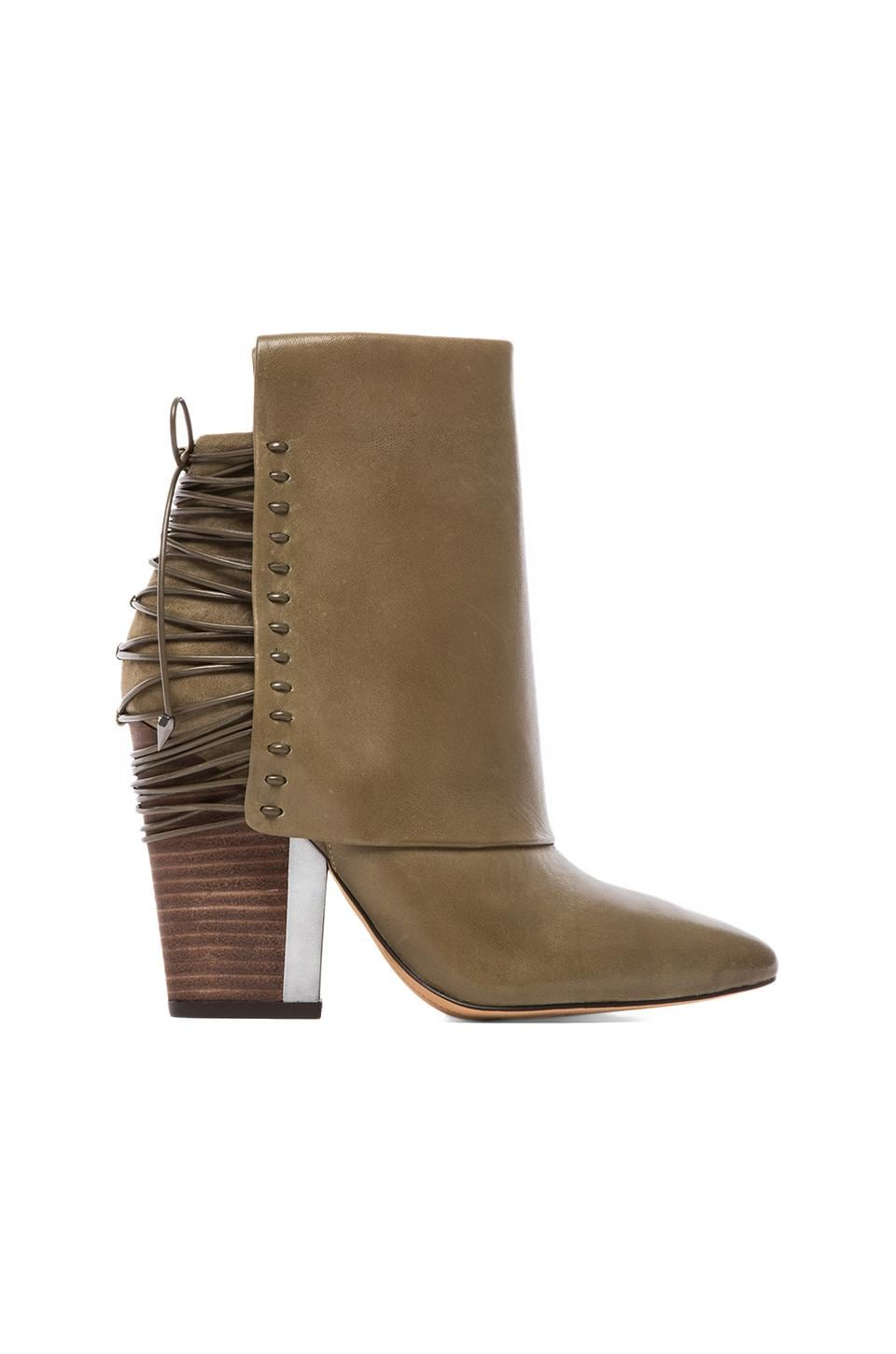 Sam Edelman Martina Bootie in Moss Green