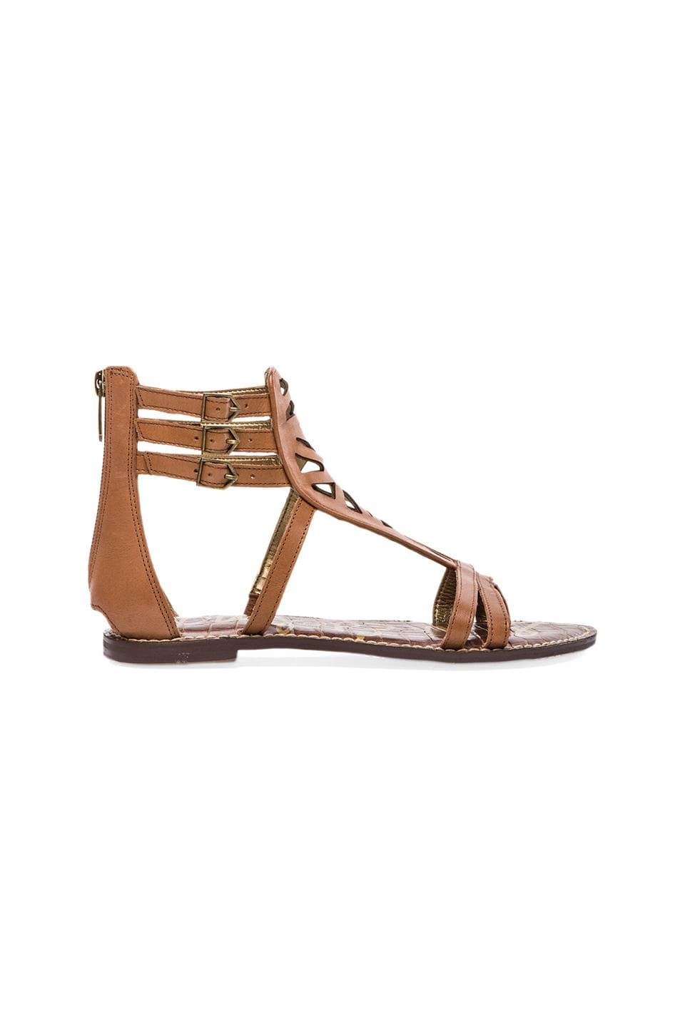 Sam Edelman Georgia Sandal in Saddle