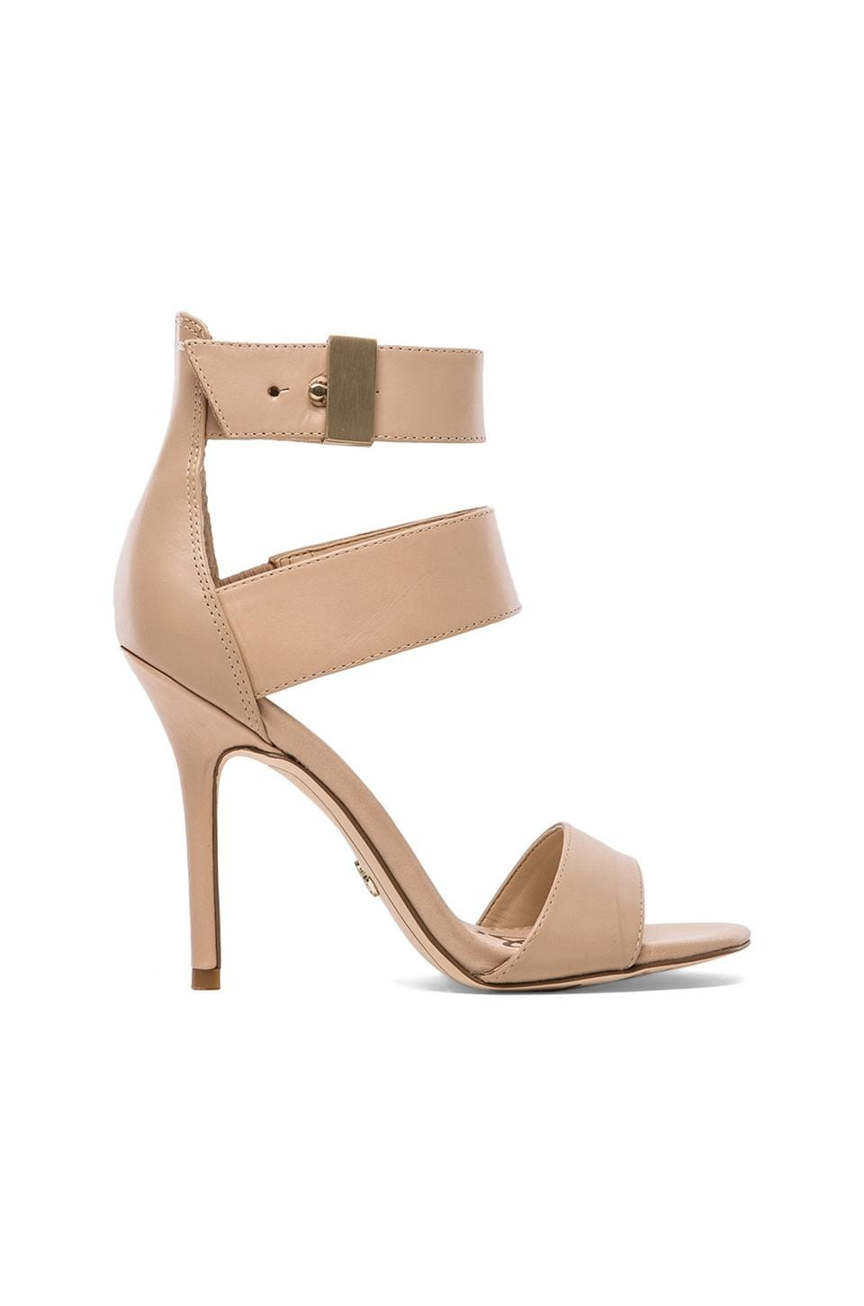 Sam Edelman Addie Heel in Buff Nude