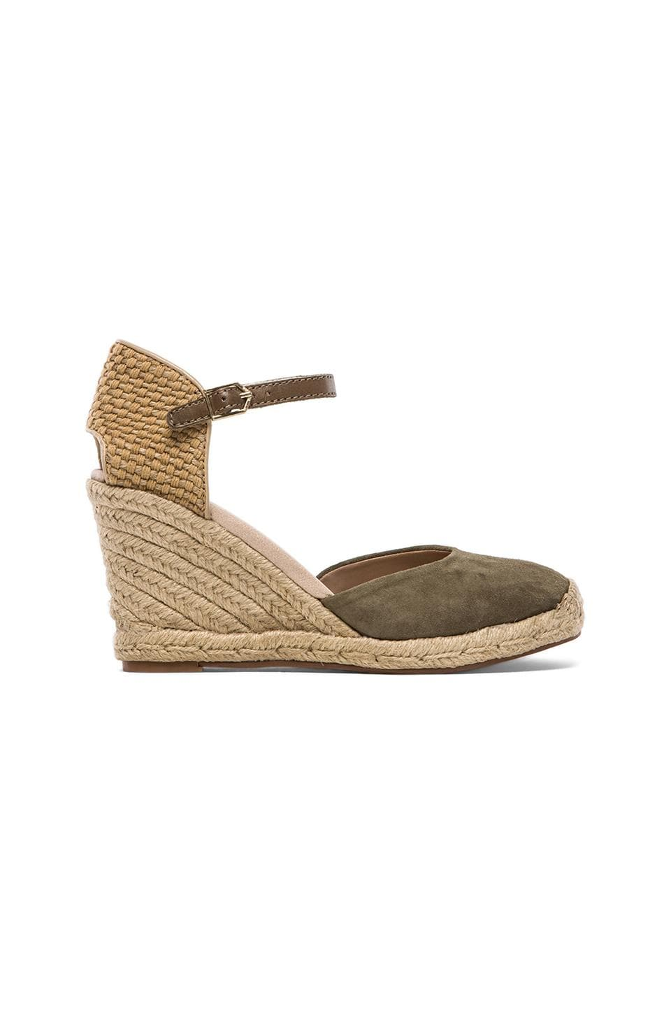Sam Edelman Harmony Wedge in Moss Green