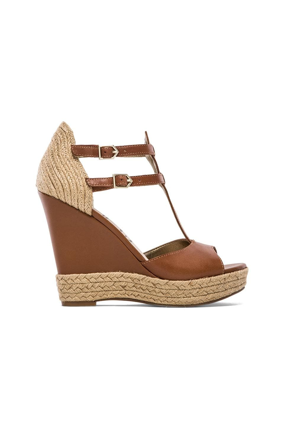Sam Edelman Katarina Wedge in Saddle