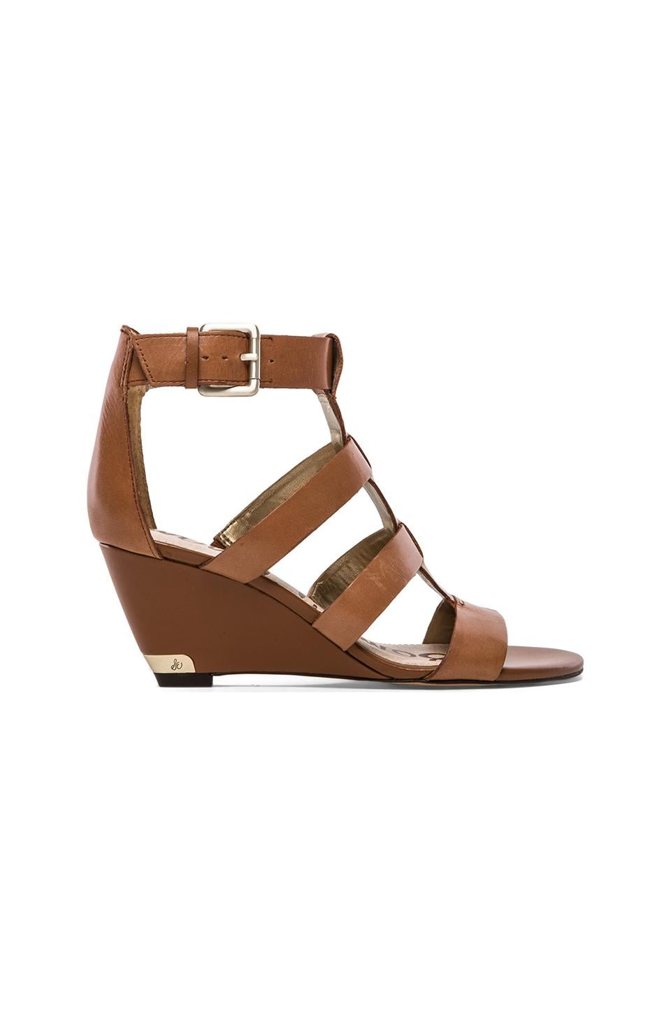 Sam Edelman Sabrina Wedge in Saddle