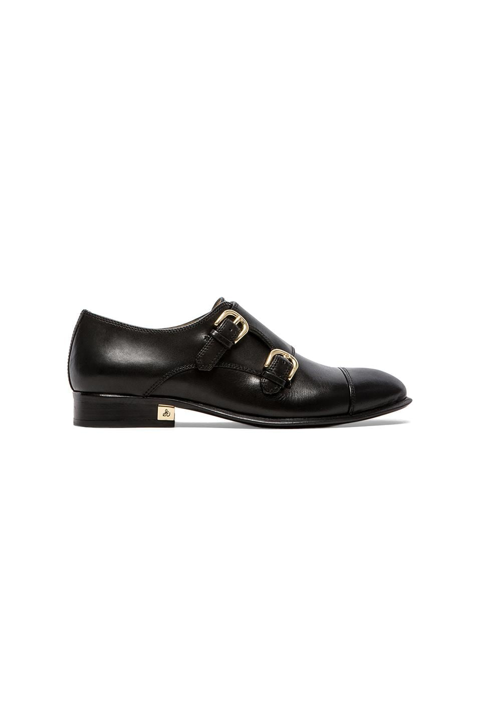 Sam Edelman Balflour Oxford in Black Leather