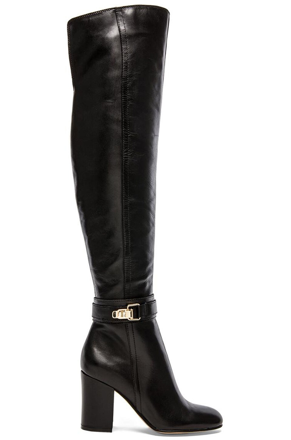 Sam Edelman Fae Boot in Black Leather
